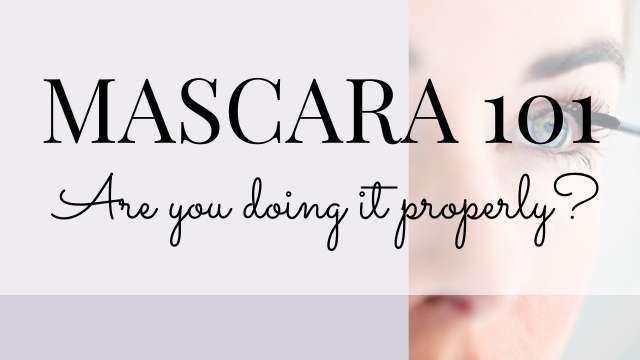 Mascara makeup tips and tricks